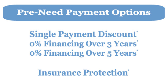 0 Financing And Pre Need Payment Options Shalom