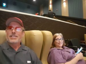 Photo By Bob Reed : Robyn and I at the movies